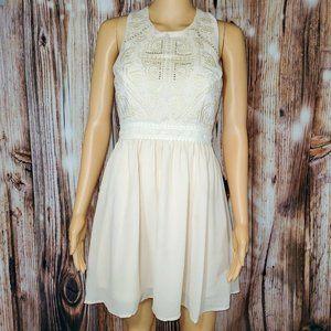 Soiéblu NWOT Pink Champagne Sleeveless Dress S